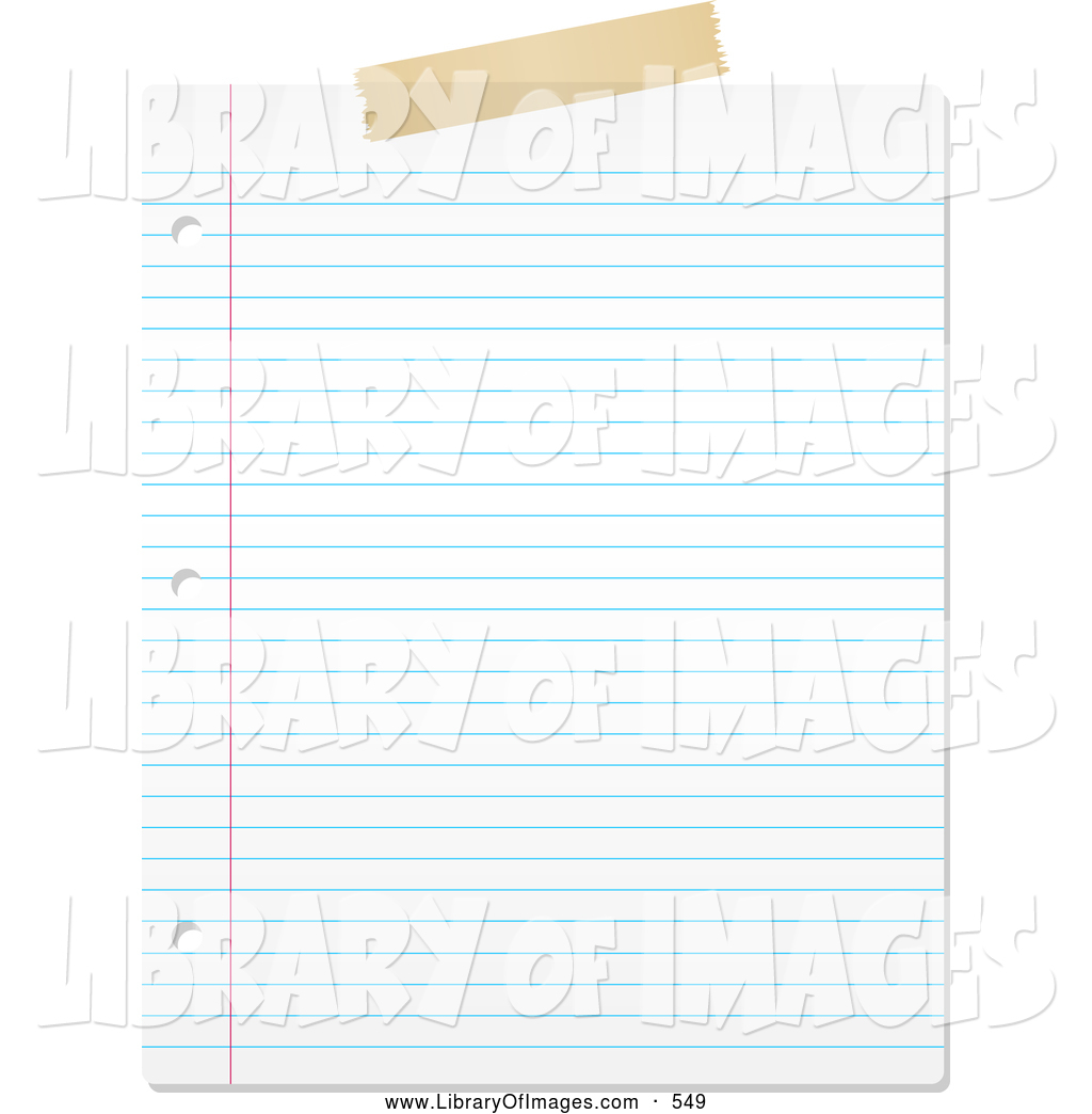 Paper clipart piece paper Of by Blank KJ on