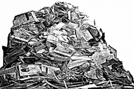 Paper clipart pile paper G89 to Pile Free is