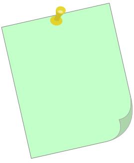 Paper clipart post it It post Post Clipart clip