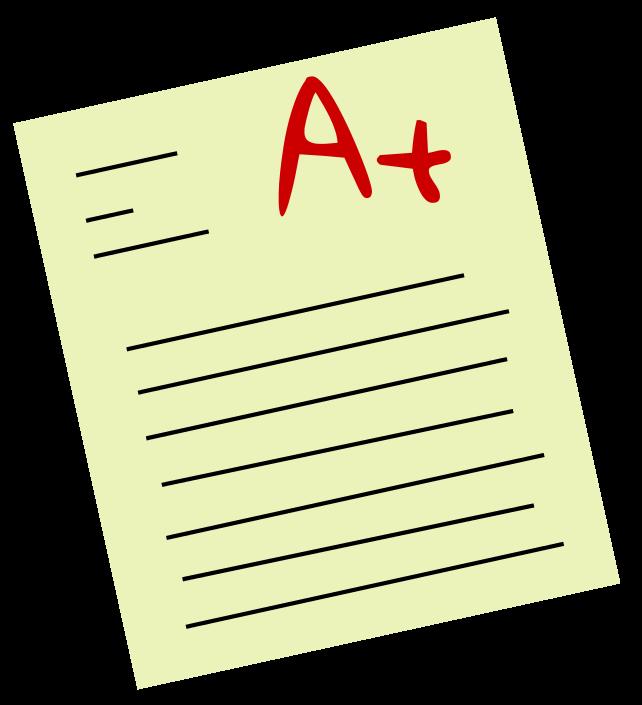 Paper clipart quiz Grades Free Images Clipart grade%20clipart
