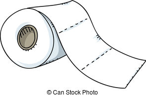 Paper clipart roled Clip Toilet Stock Paper A