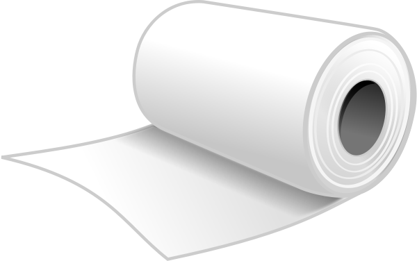Paper clipart rolled Paper Download Clip Toilet Art