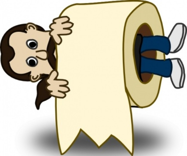 Paper clipart rolled Download clip Toilet Toilet Free