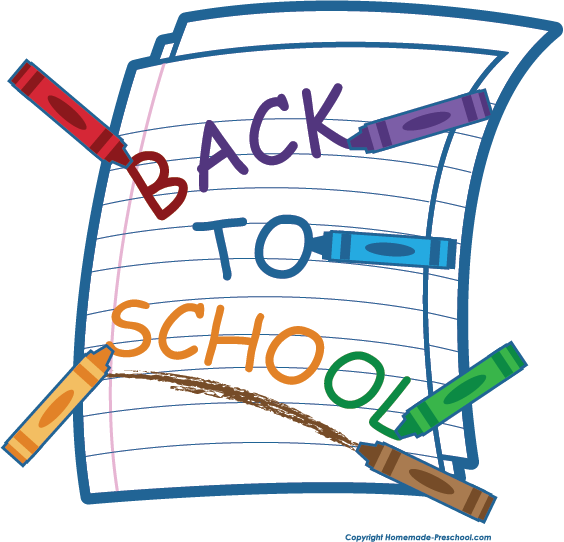 Rear clipart ready for school School Back to Clipart Click