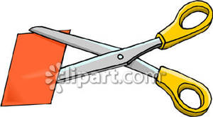 Yellow clipart scissors Clipart Free Clipart Paper Images