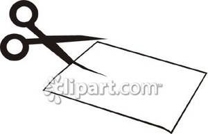Paper clipart scissor cutting Cutting Tag Pet The Wooden