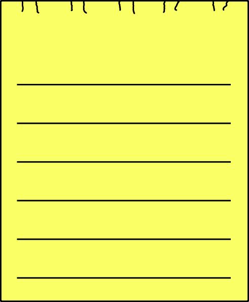 Paper clipart sheet paper Com Clker this Art image