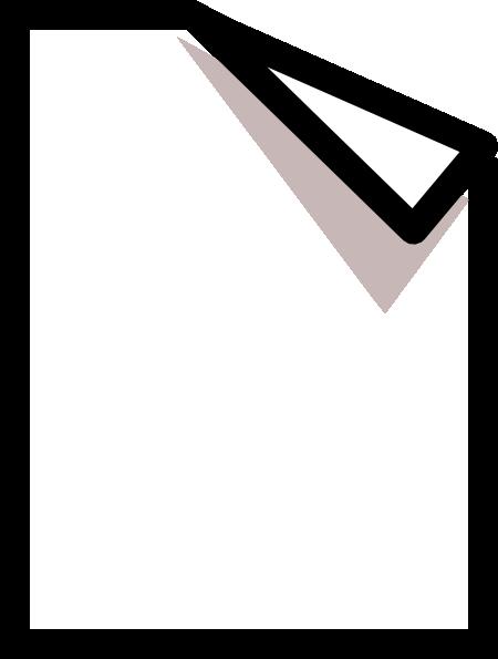 Paper clipart small PNG: Folded Art art com