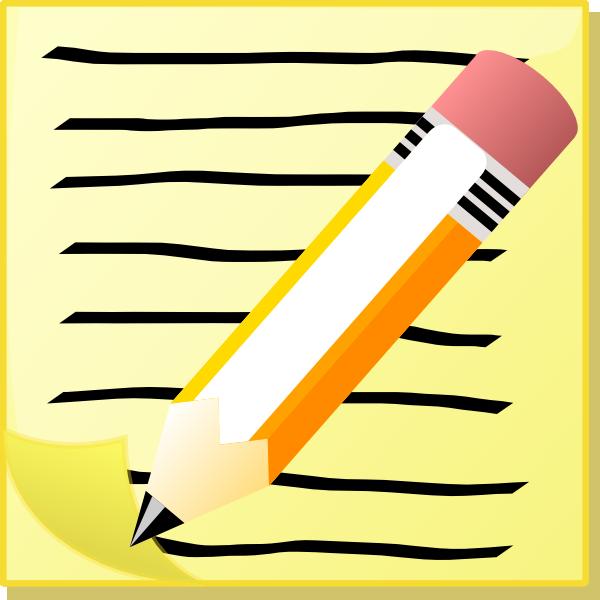 Paper clipart small Pencil  clip online Pencil