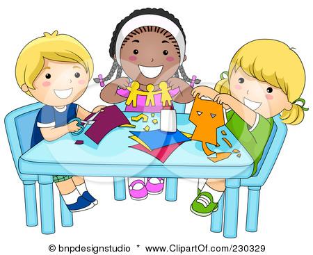 Paper clipart small Children GroupsPaper Cutting Paper cutting