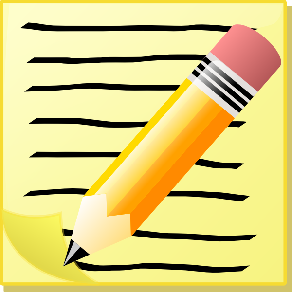 Pen clipart write letter Clker image  at vector