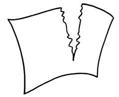 Paper clipart torn paper Paper art clipart Torn Torn