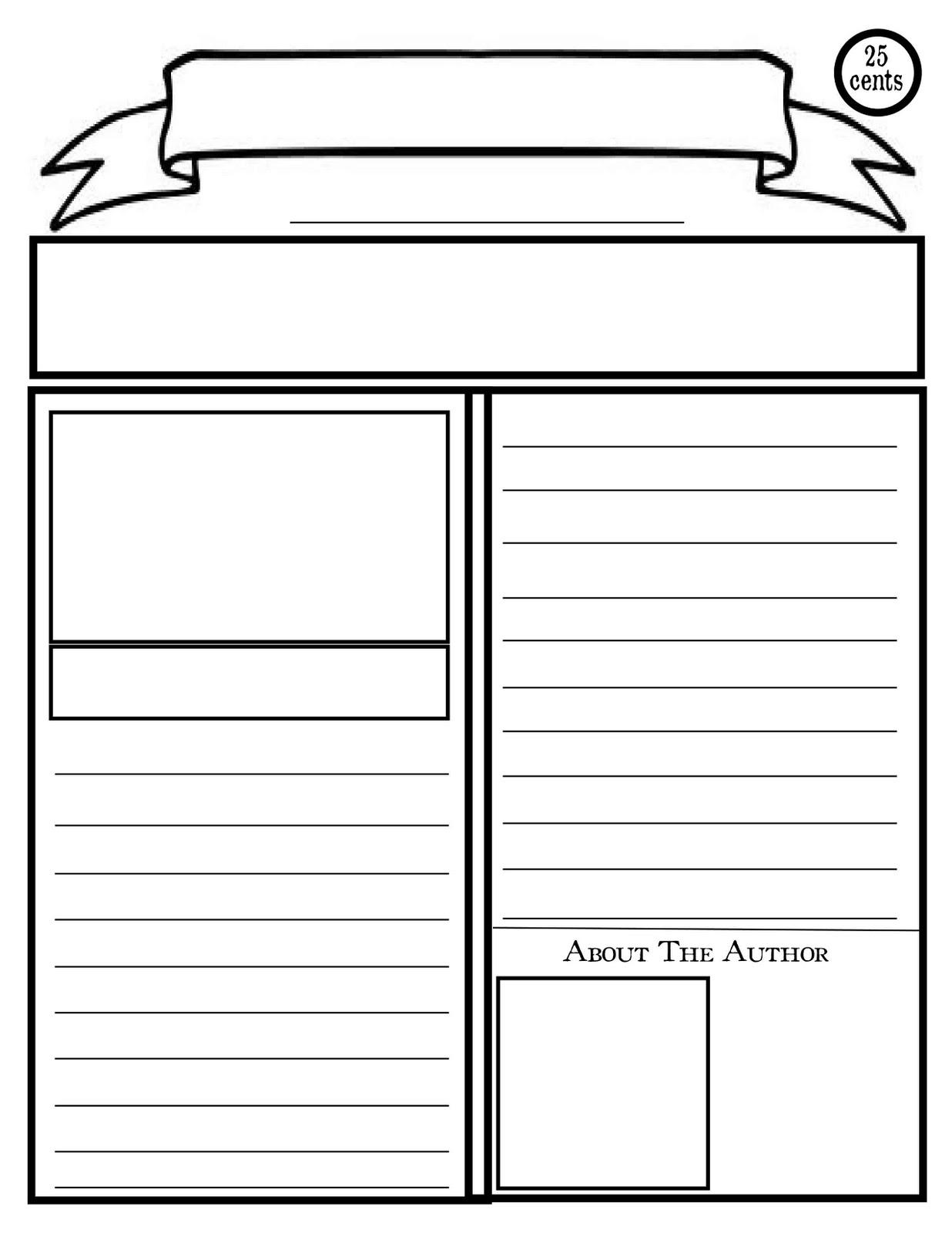 Paper clipart worksheet Clipart Clipart Newspaper blank%20newspaper%20clipart Clipart