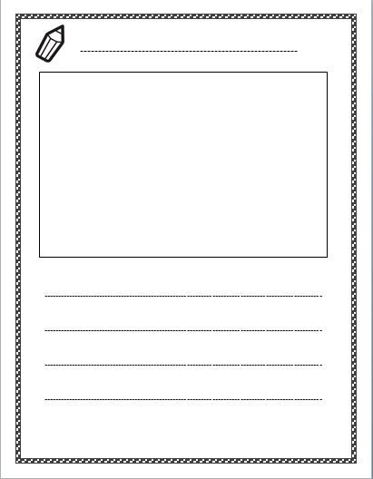 Paper clipart worksheet 25+ Pinterest on Free lined