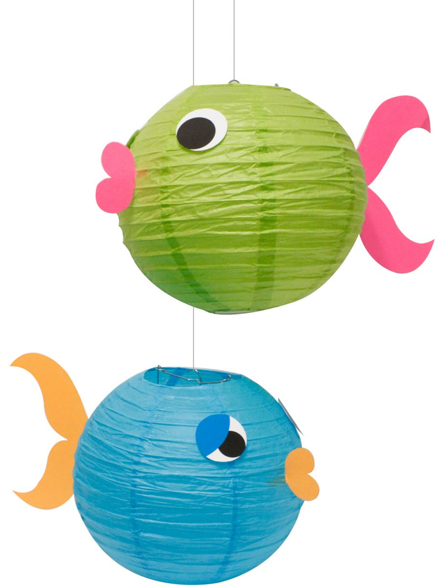 Paper Lantern clipart birthday party decoration Lanterns and Party Fish Fish