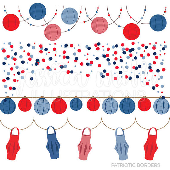 Paper Lantern clipart border Awesome Bunting! and 3 Wikii