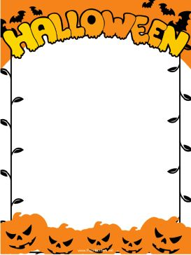 Bat clipart frame Jack paper best and templates