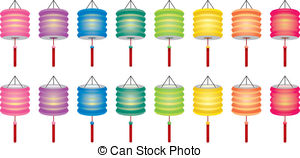 Paper Lantern clipart china Knot paper illustration  EPS