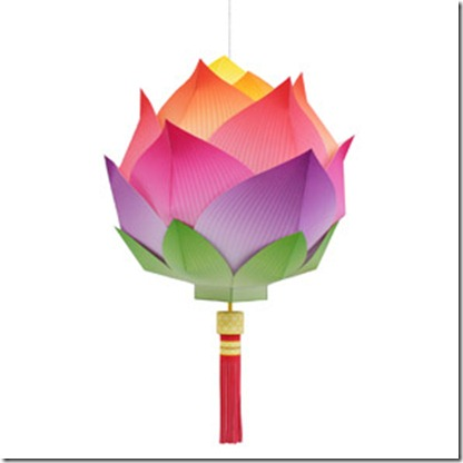 Celebration clipart paper lantern Lotus these Lantern Flower of