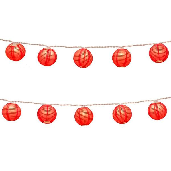 Paper Lantern clipart light strand  String Red The Lights