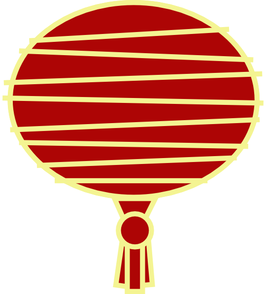 Paper Lantern clipart red chinese Paper com Art online Lantern