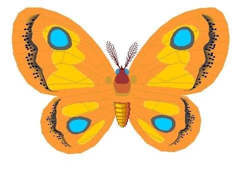 Papillon clipart Art Free  Les Clip