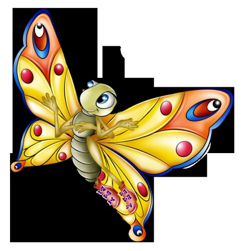 Papillon clipart bug · PNG BISOUS TUBES PTITS