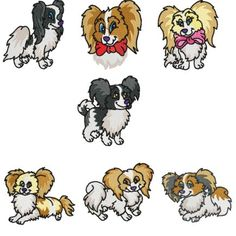 Papillon clipart cartoon UtopianBob Papillon Clip Art