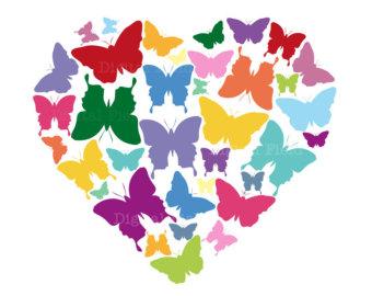 Papillon clipart summer Digitalfield summer Set Zone by