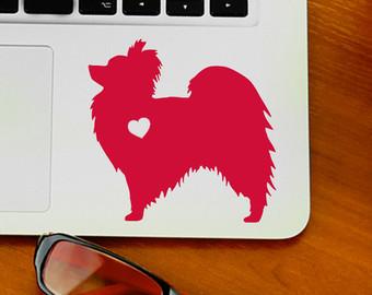 Papillon clipart summer Sticker Laptop Heart Decal Etsy