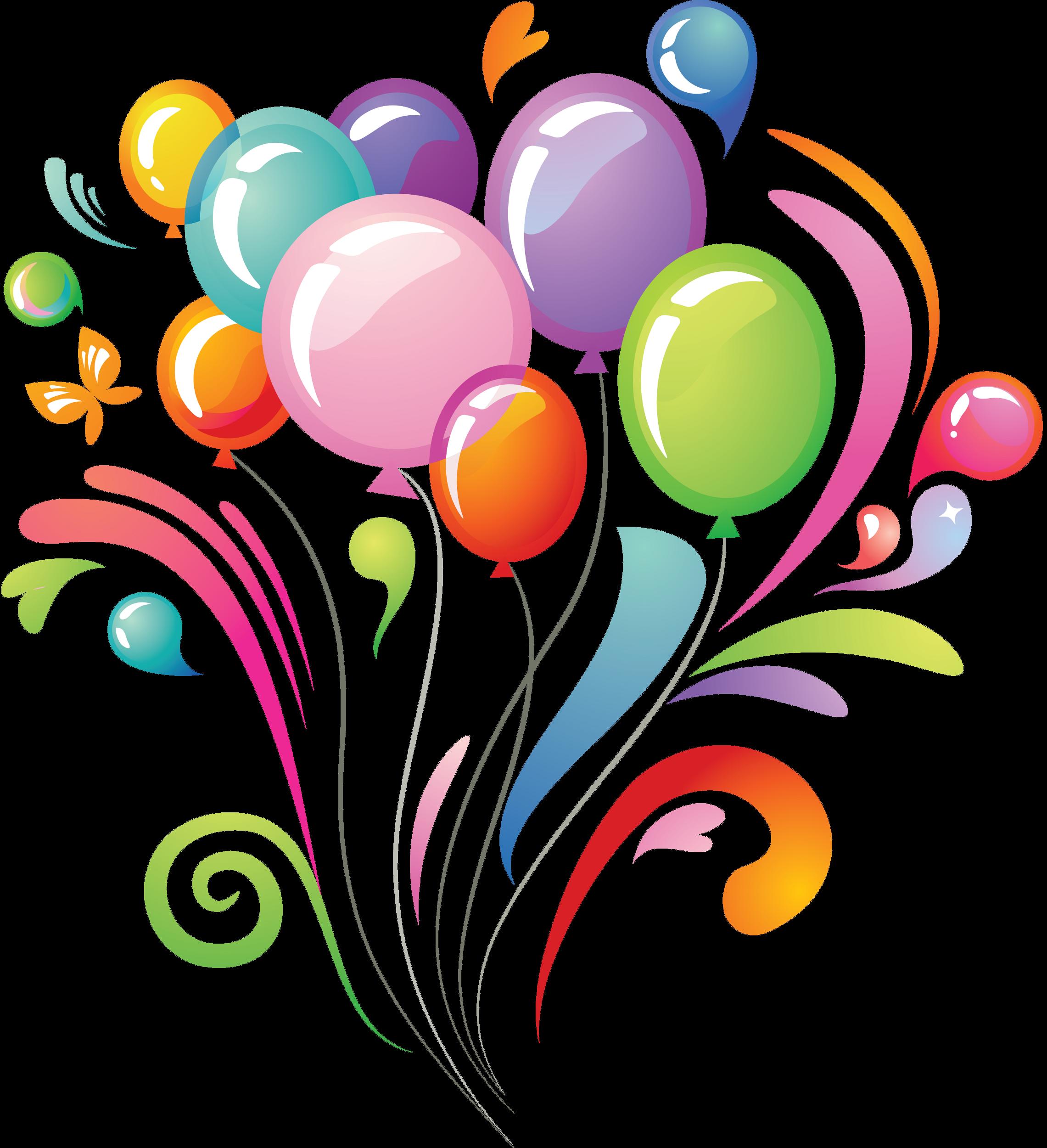 Papillon clipart summer Ballon Papillon Multicolores Multicolore Render