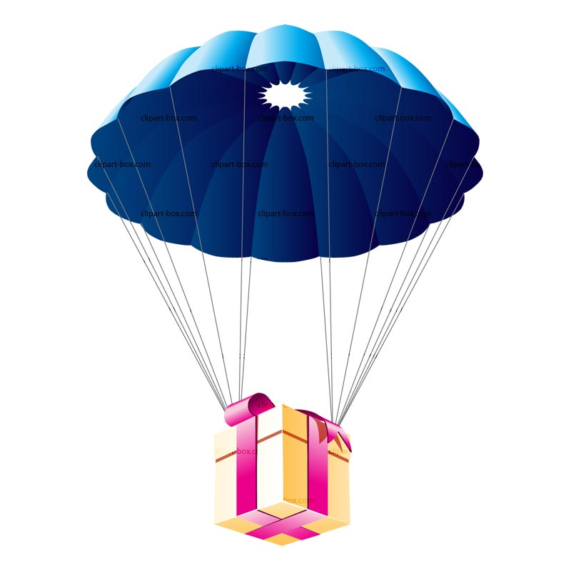 Parachutist clipart chute Cliparts Art Clipart The Parachute