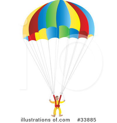 Parachutist clipart kid parachute By Images Royalty Parachute Free
