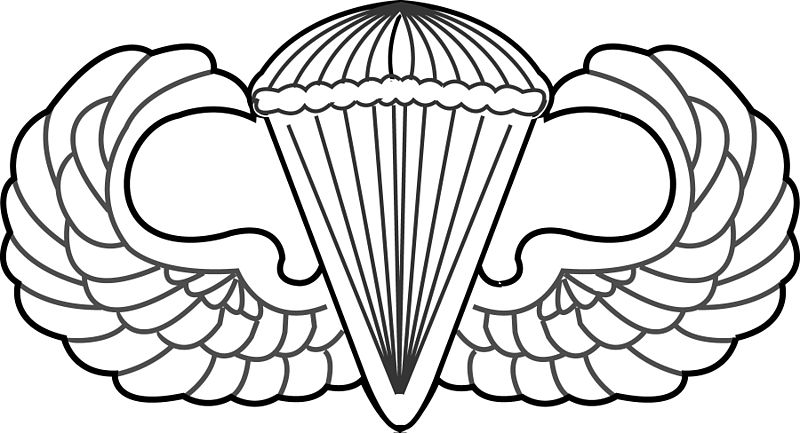Parachute clipart airborne Civil War the Airborne Happy
