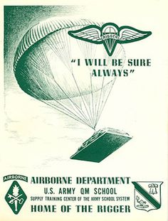 Parachute clipart airborne Quartermaster 16th #army Parachute Lee