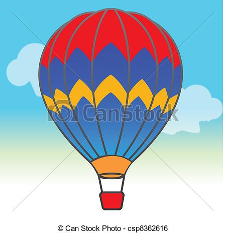 Parachute clipart rainbow Sky in csp8362616 the in
