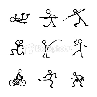 Diving clipart stick figure Stick funny Pictures stick Sport
