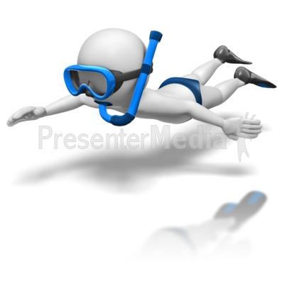 Diving clipart stick figure Figure 8690 Parachute Presentation ID#