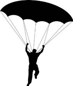 Skydiving clipart parasail Graphic Man Pinterest Size: Wall