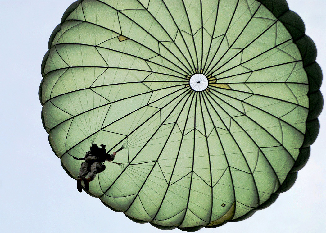 Parachutist clipart army parachute Stock  image N at