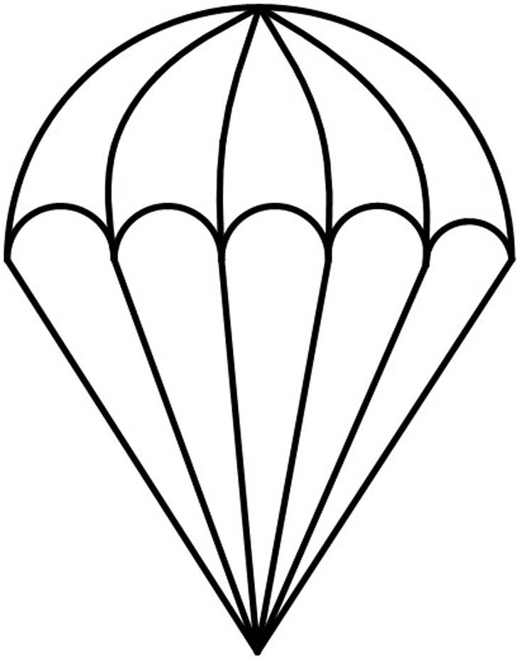 Parachutist clipart Best Parachute Stained 15 on