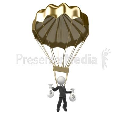 Parachutist clipart chute Parachute  and ID# Golden