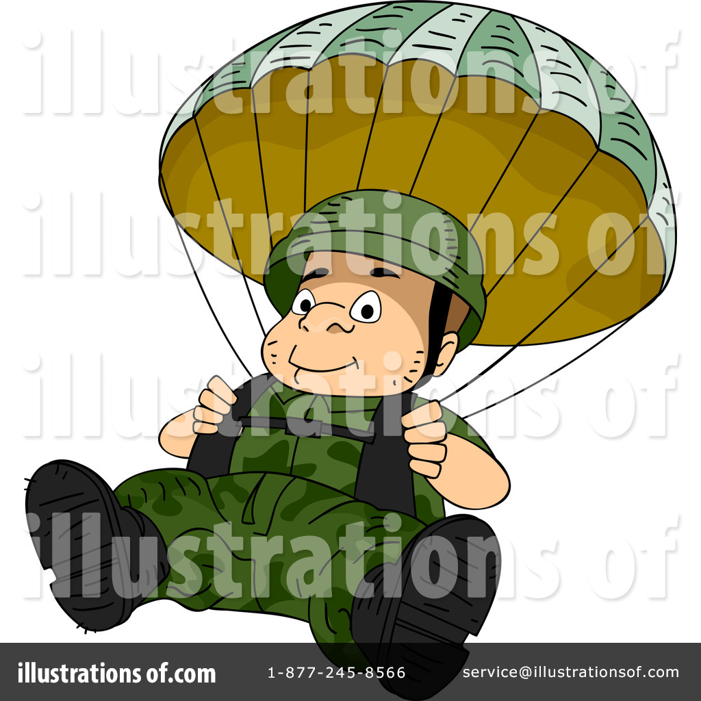 Parachutist clipart chute Design by Studio Illustration Clipart