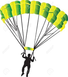 Parachutist clipart chute Html com/photo_43240786_parachute http://fr com/photo_7467707_parachutiste 123rf