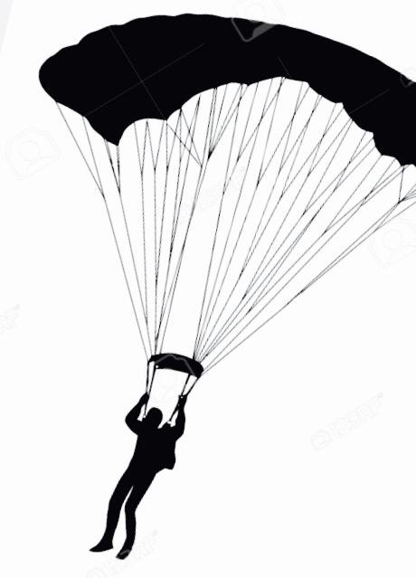 Parachute clipart paragliding Vector/black_parachute Pinterest parachute tumblr http://www