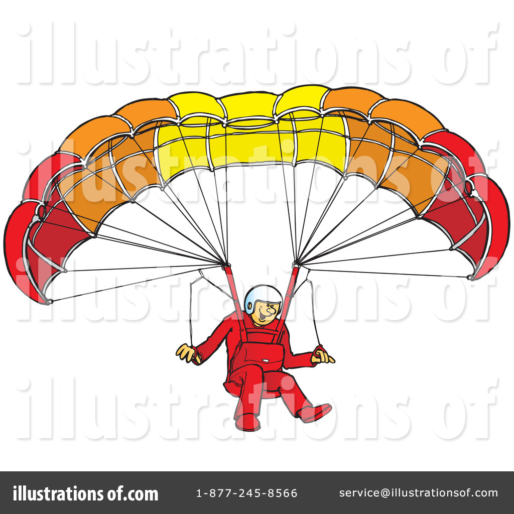 Parachutist clipart paraglider Free #41902 Clipart Paragliding Royalty