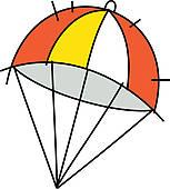 Parachutist clipart parasail Photos icon GoGraph Parachute ·