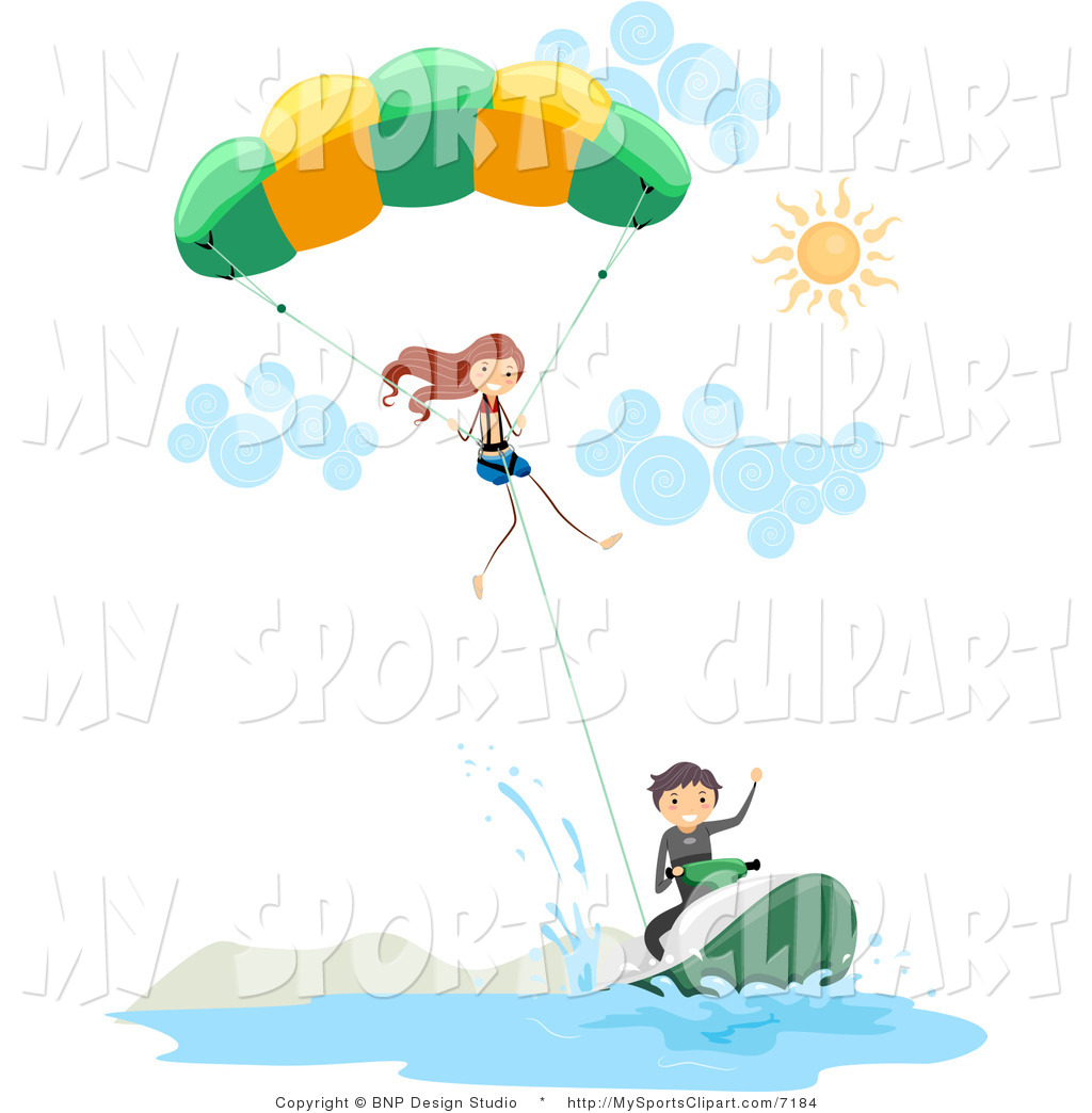 Parachutist clipart By Sports #7184 Sports of
