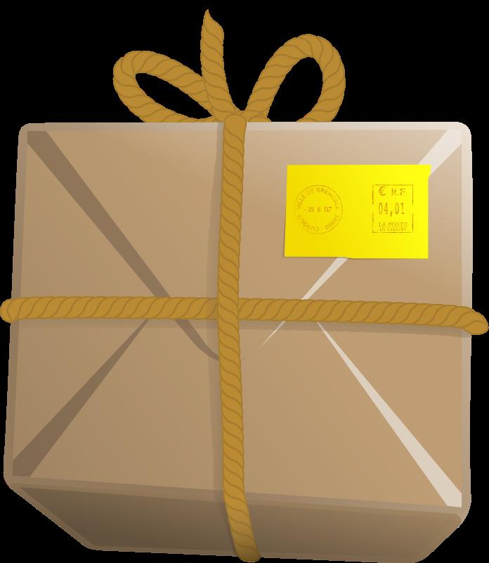 Parcel clipart delivery man  Parcel Clip Art Free
