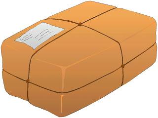 Parcel clipart delivery man  Clip Art Parcel